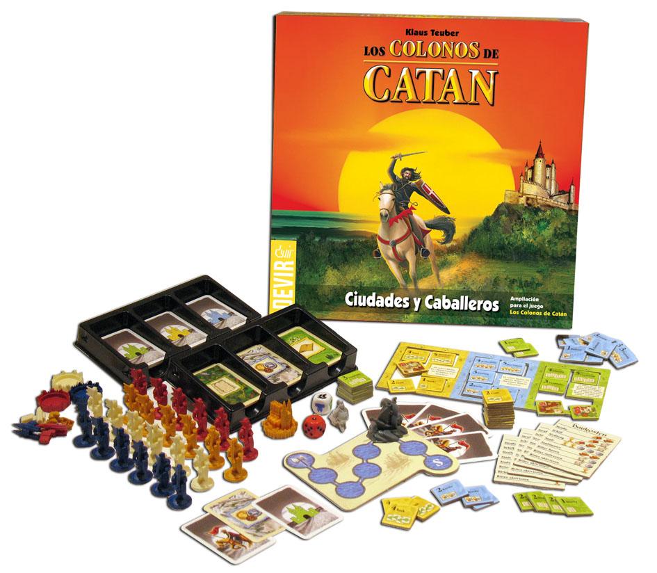 Vendo juego de mesa colonos de catan expansion ciudades y caballeros - Catan juego de mesa ...